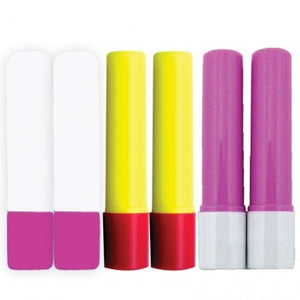 Glue Pen Refill Pack 6 pcs pink-blue-yellow