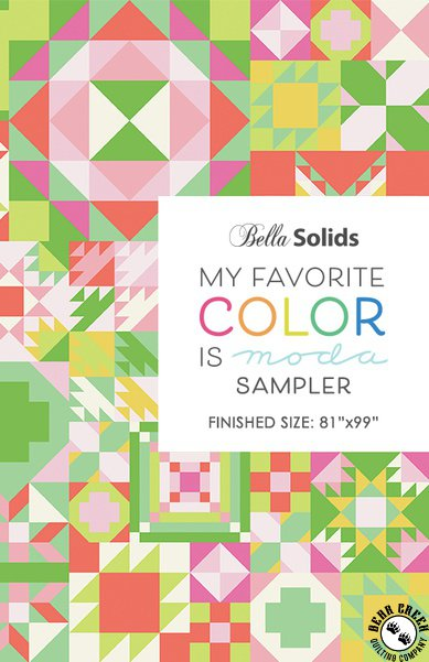 My Favorite Color is Moda Sampler 2021 tilkkutyöohje