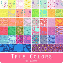Load image into Gallery viewer, True Colors by Tula Pink, puuvillakangas Charm Pack