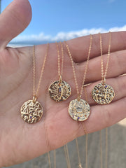 Zodiac Medallion Necklaces