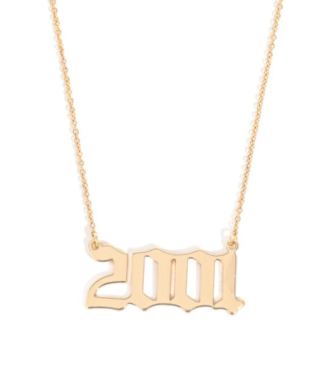 Birth Year Necklace PRE ORDER