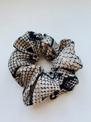 satin snake scrunchies