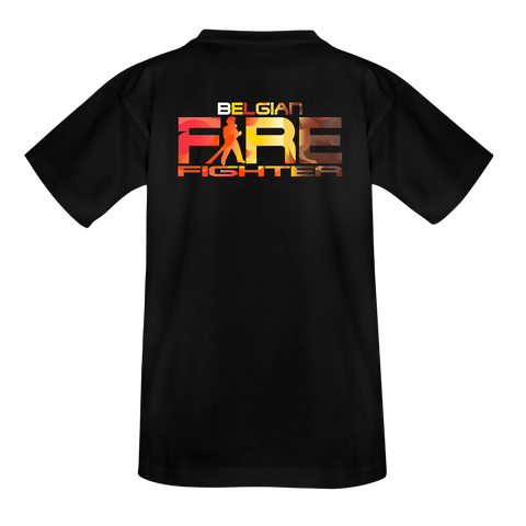 Kids belgian firefighter op rug T-Shirt