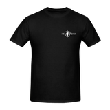 Firefighter in shield op rug + borstlogo T-Shirt