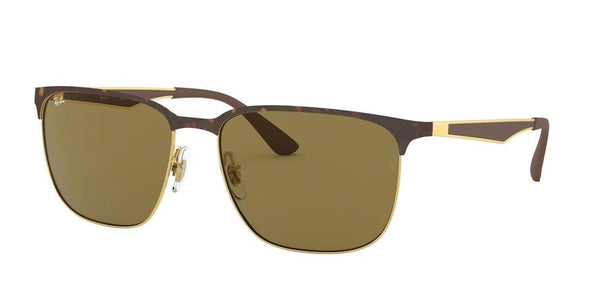RB3569 - 900873 Gold Top Shiny Havana - EyecareatHome