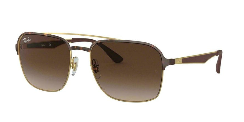 RB3570 - 900813 Gold Top Havana