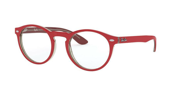 RX5283 - 5987 Red On Top Trasparent Grey - EyecareatHome