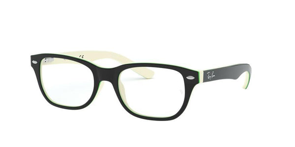 RY1555 - 3820 Top Black On White/Green - EyecareatHome