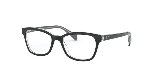 RY1591 - 3529 Top Black On Transparent - EyecareatHome