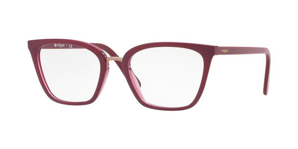 VO5260 - 2555 Top Dark Red/Red Transp - EyecareatHome