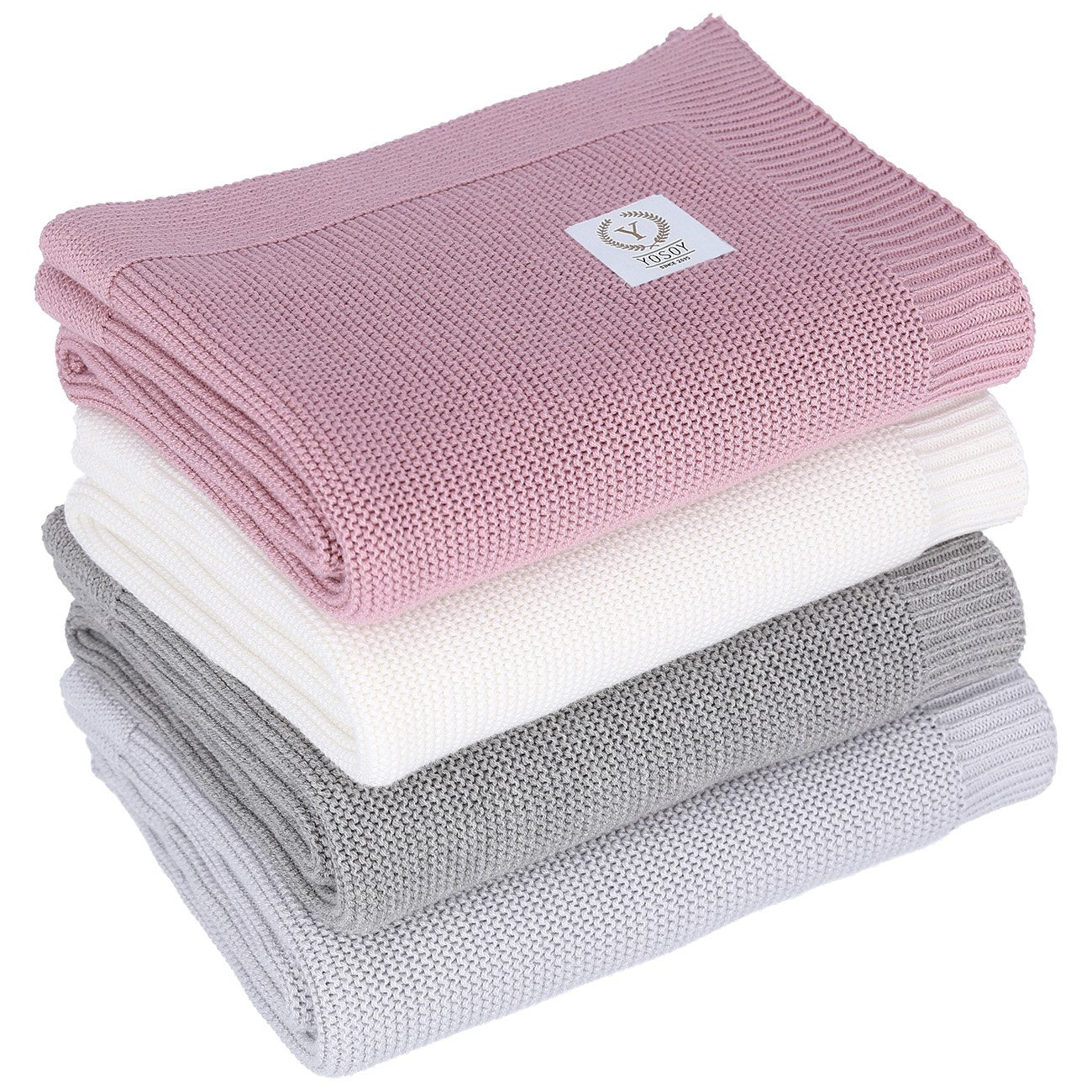 Cotton Blanket Light Grey - MyLullaby