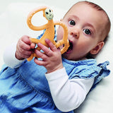 Dancing Monkey Teether - Orange - MyLullaby