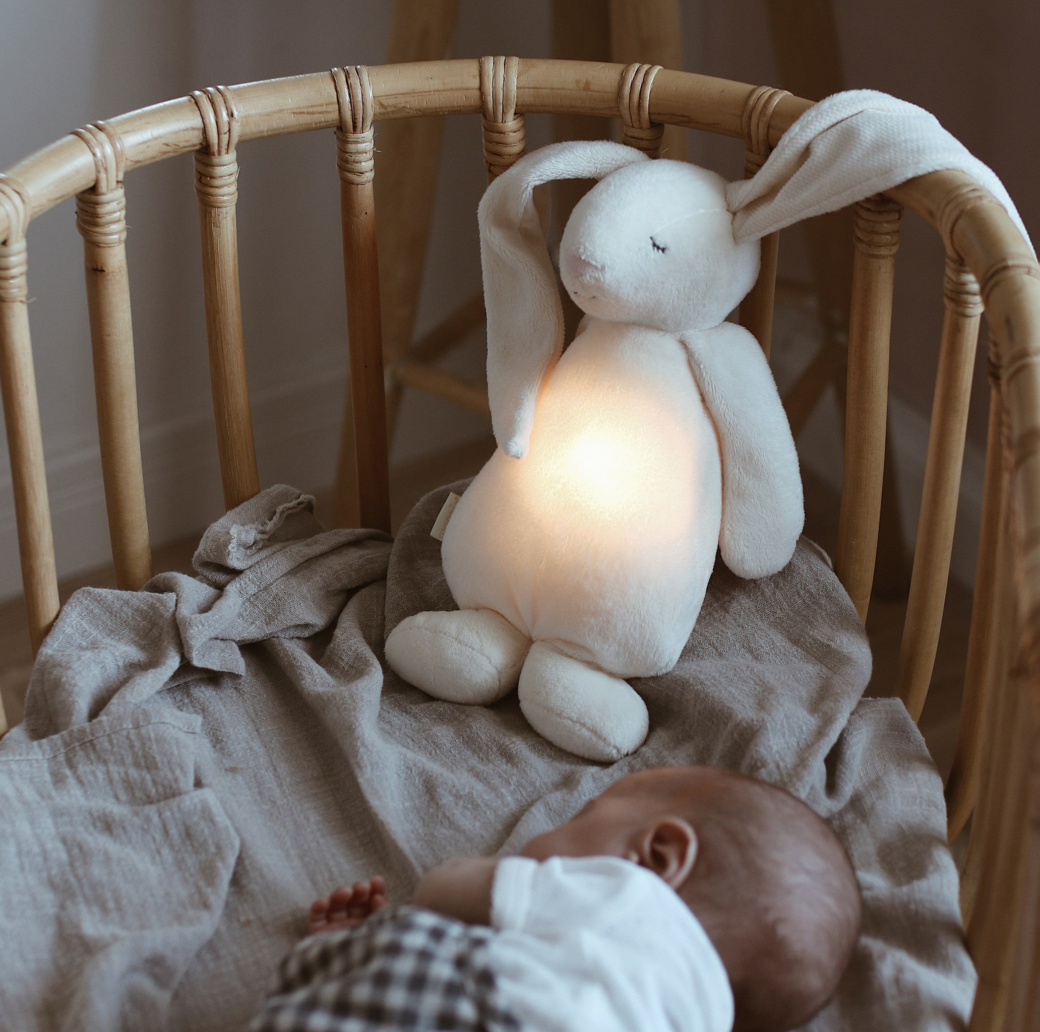 Moonie Humming Friend Baby Nightlight (Cloud)