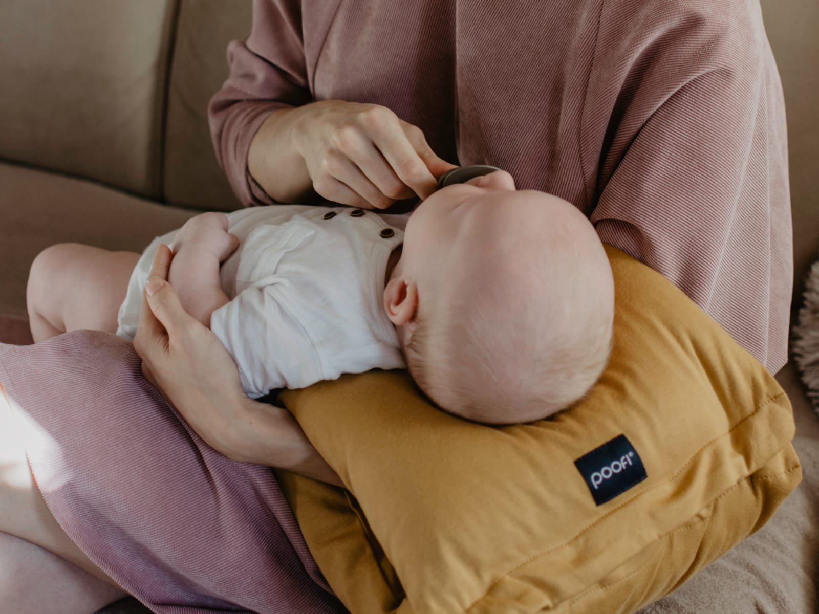 Nursing Pillow – Arm Band Petrol - MyLullaby