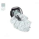 Car Seat Blanket Eucalyptus/Mint - MyLullaby
