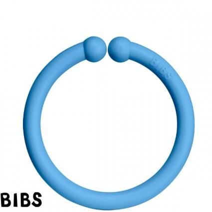 Bibs Play Loops 6-pack Baby Blue/Mint/Clear Water - MyLullaby