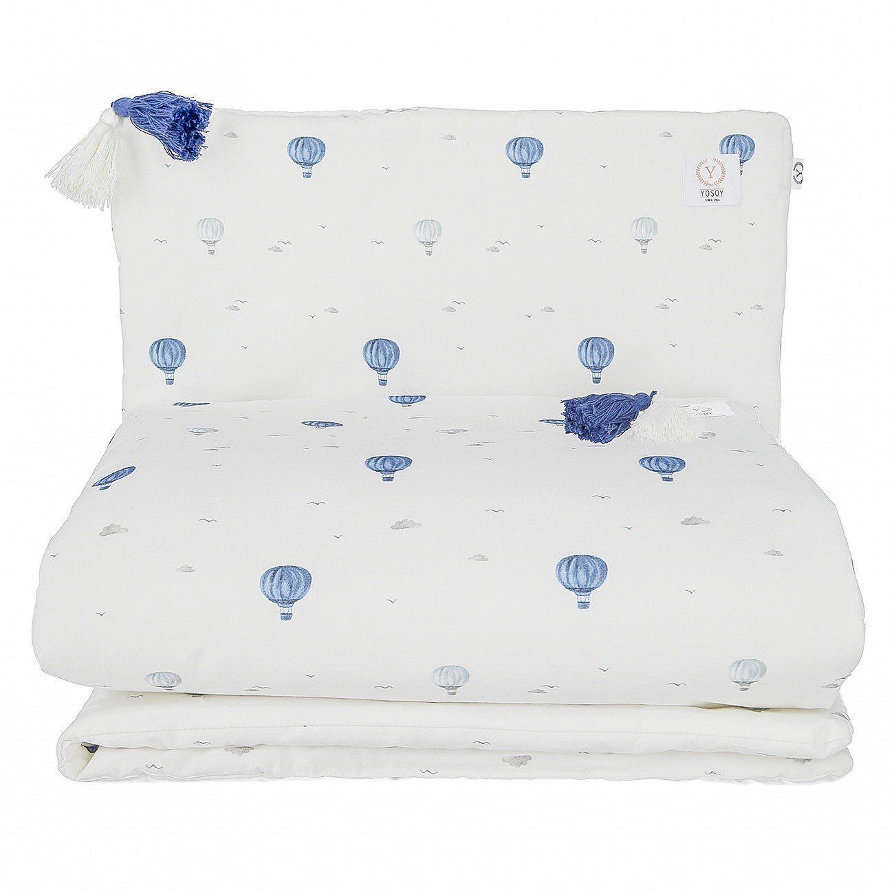 Organic Bedding Set Balloons - MyLullaby