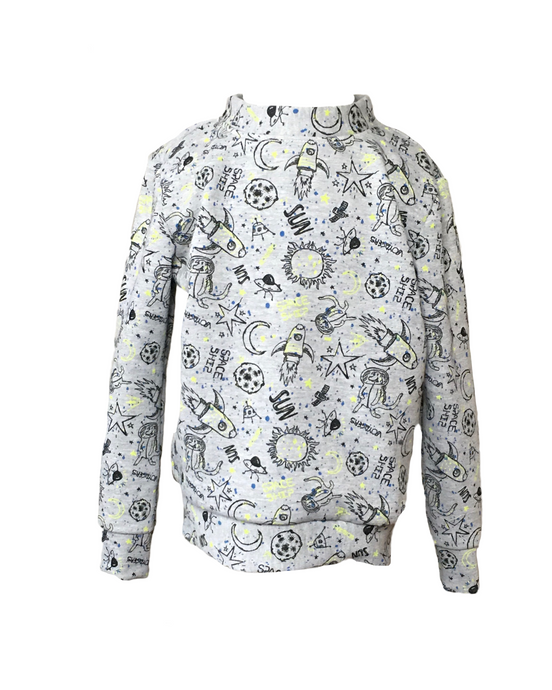 Kids Outer Space Sweatshirt Limited