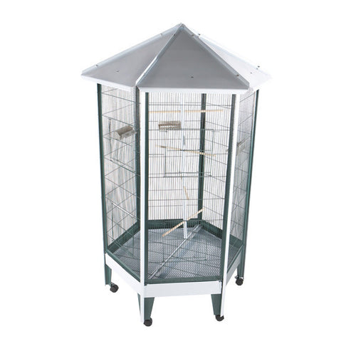 A&E Hexagonal Aviary Cage