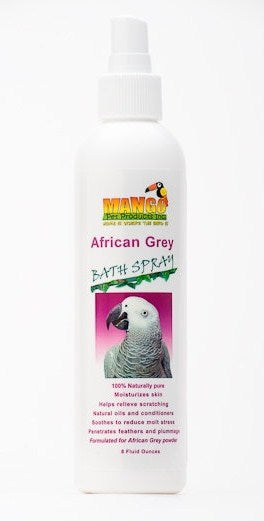 African Grey Bath Spray 8 fl oz