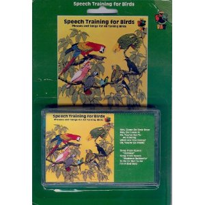 Speech Training for Birds Cassette