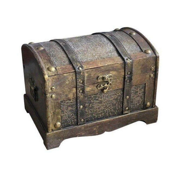 Pirate Chest - Antique Wood Style