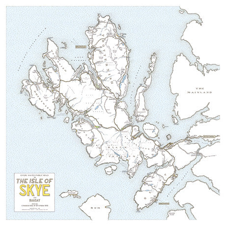 Mapping Portree and Isle of Skye
