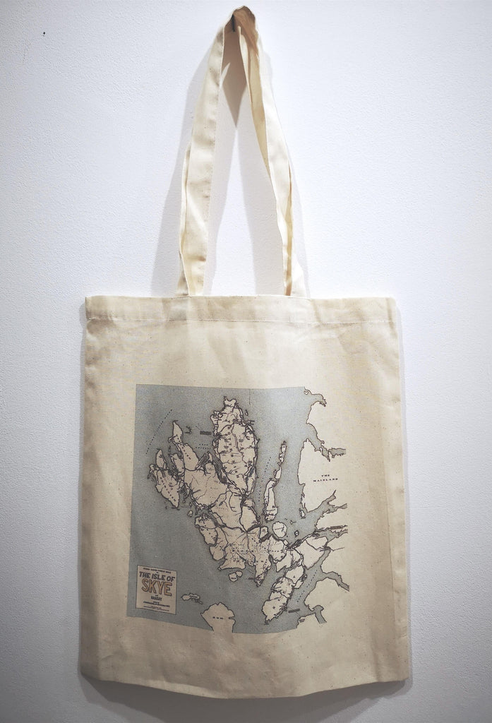 Every Paved Public Road on the Isle of Skye and Raasay Tote Bag