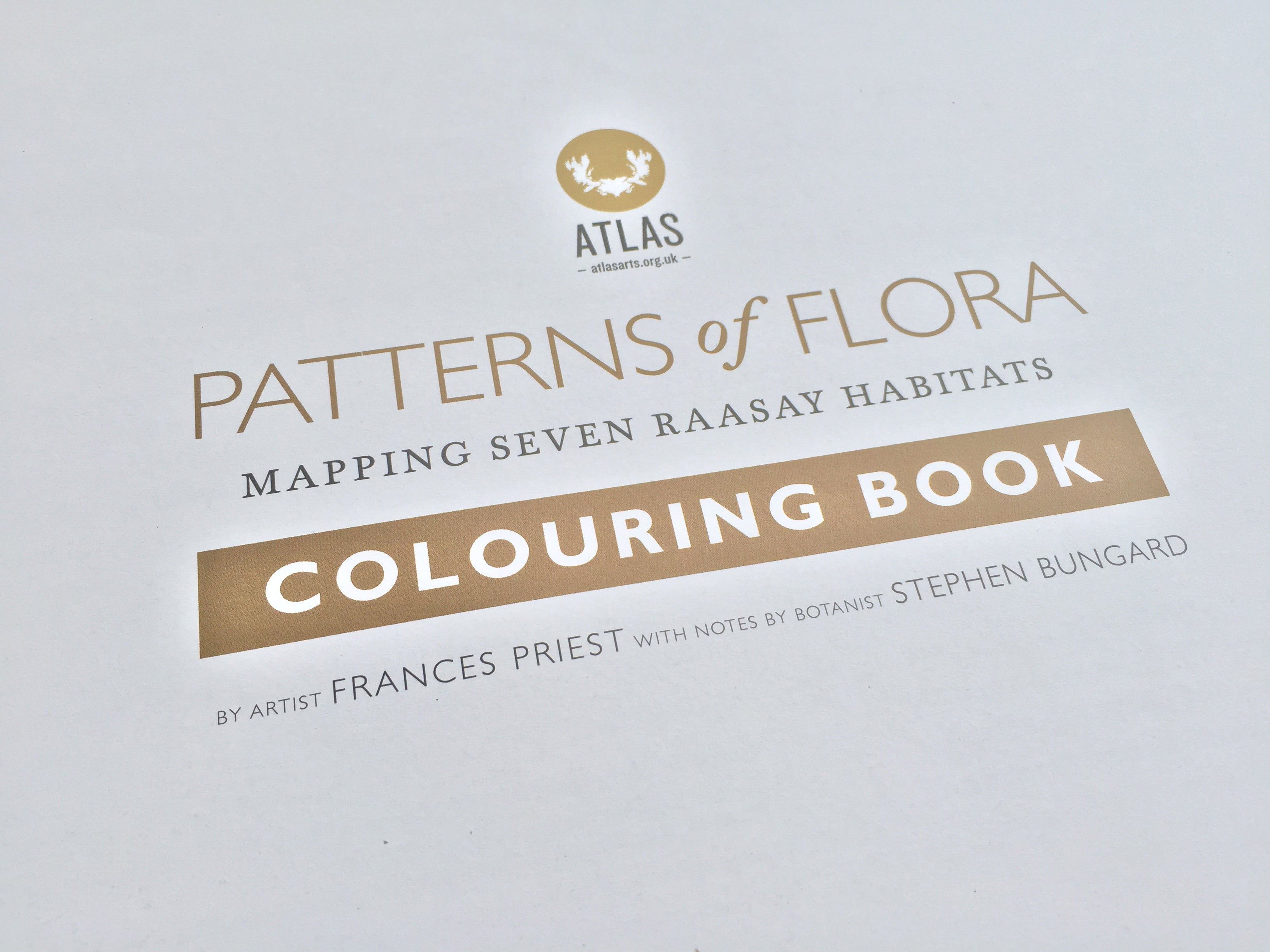Two Patterns of Flora Colouring Books for £20 (+P&P)