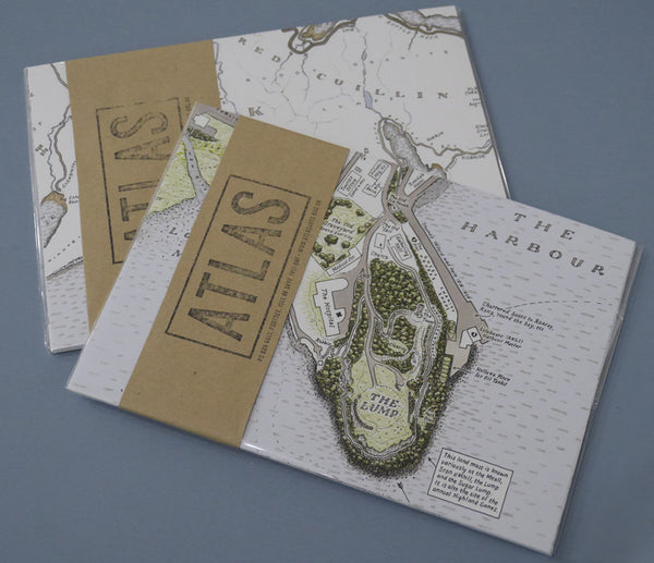 Set of 8 Postcards - Every Road on the Isle of Skye & A Walk Around Portree