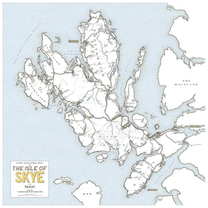 Print - Every Road On The Isle Of Skye - J. Maizlish Mole