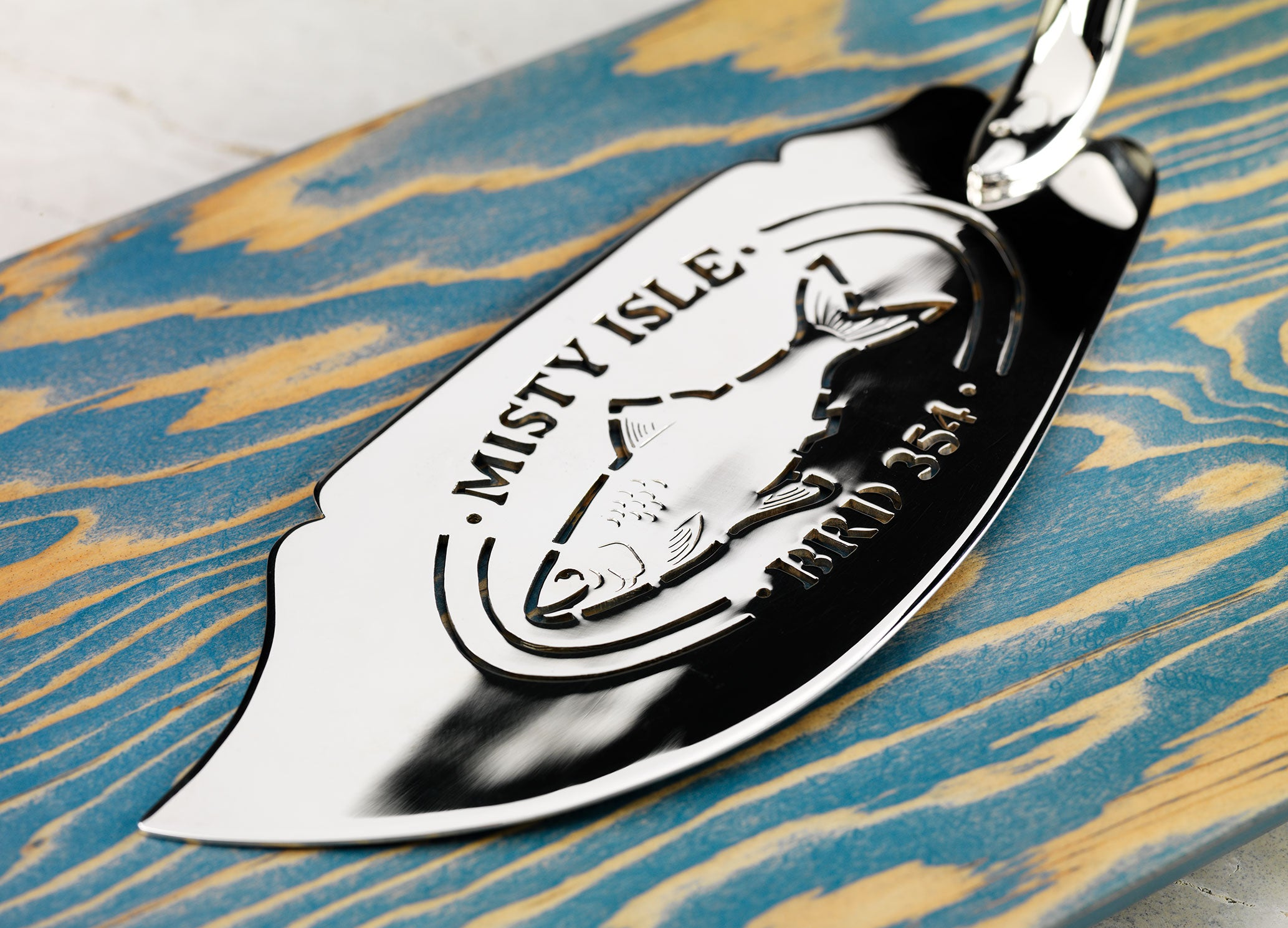 Misty Isle Fish Slice | Will Maclean