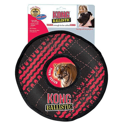 KONG - Ballistic Tiger Tested Ring Dog Toy