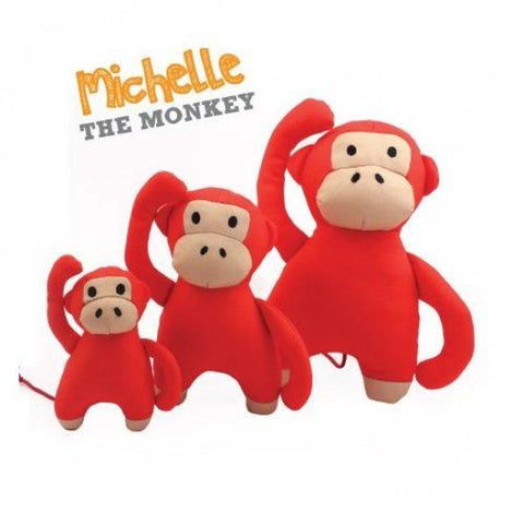 "Beco Pets - Family ""Michelle"" The Monkey Dog Toy"