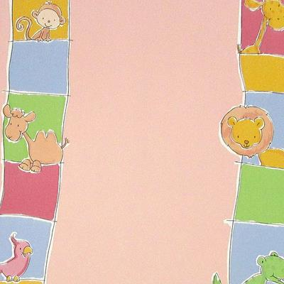 Papel de Parede Safari Friends Belga SF6209