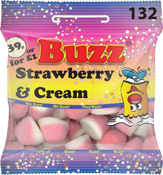 132 Strawberry & Cream