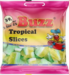 145 Tropical Slices 18 x 39p