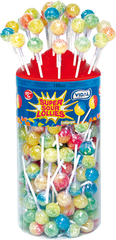 568 Super Sour Lollies 150 x 5p