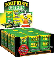 605 Green Toxic Waste
