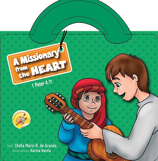 A MISSIONARY FROM THE HEART COLORING BOOK