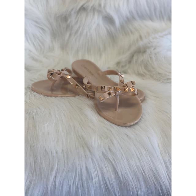 Joanie Nude Sandals