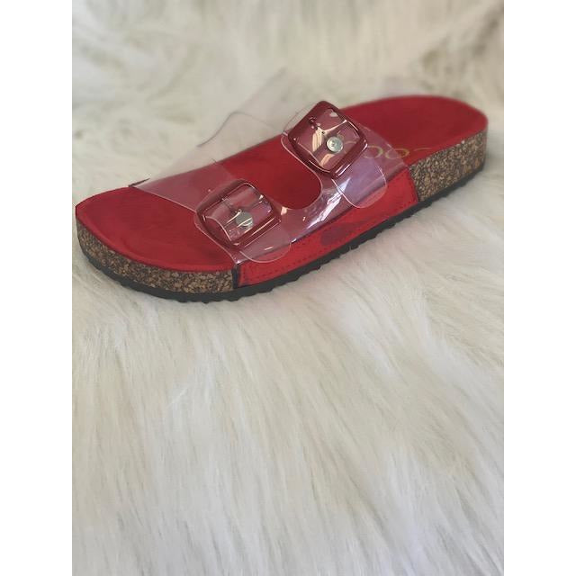 Paradise Red Sandals