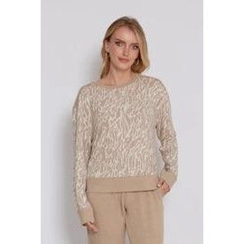 Charley camel pullover
