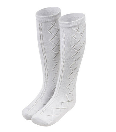 Patterned Knee sock - 2 pair pack
