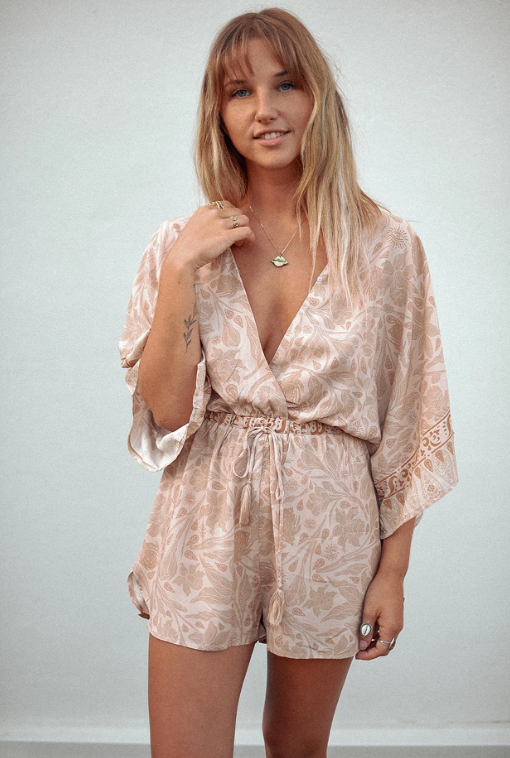 Romper Jumpsuit  Sustainable Ethical Australian Slow Fashion Online