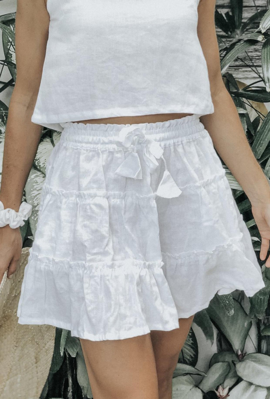 LJC Designs Zanzibar Skirt in White