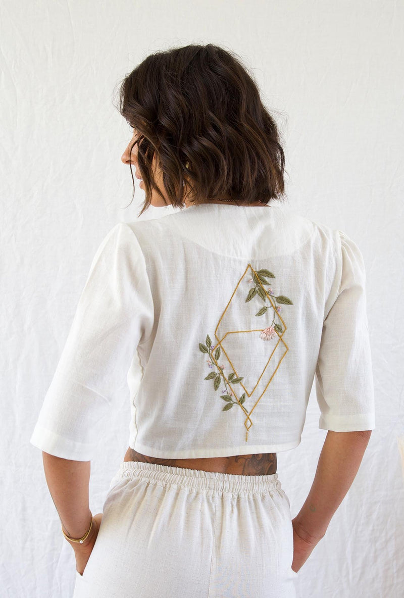 Andean Collective Adrala Blouse Natural
