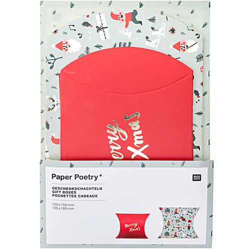 Jolly Christmas Gift Pouches
