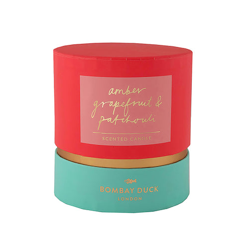Scented Candle Amber, Grapefruit and Patchouli