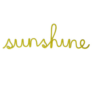 Sunshine Rope Word